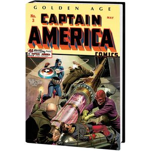 [Golden Age Captain America: Omnibus: Volume 1 (Weeks Cover New Printing Hardcover) (Product Image)]