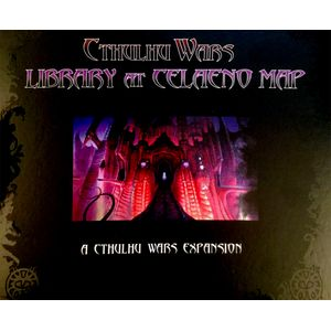 [Cthulhu Wars: Great Library At Celaeno Map Expansion (Product Image)]