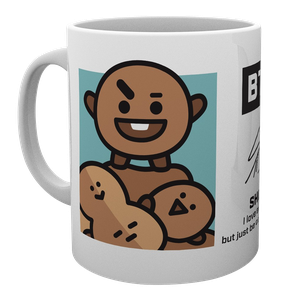 [BT21: Mug: Shooky (Product Image)]