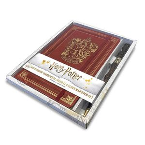 [Harry Potter: Ruled Journal With Pen: Gryffindor (Hardcover) (Product Image)]