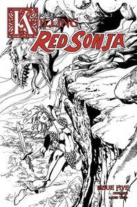 [Killing Red Sonja #5 (Castro Black & White Variant) (Product Image)]