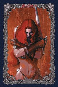 [Red Sonja: Age Of Chaos #2 (Dell'Otto Icon Variant) (Product Image)]