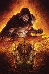 [The cover for God Of War: Fallen God #2]