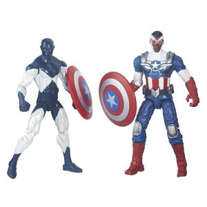 [Marvel Legends: Wave 1 Action Figure Comic 2 Packs: Shield Wielding Heroes (Product Image)]