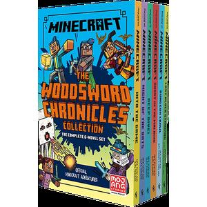 [Minecraft: Woodsword Chronicles: 6 Book Slipcase (Product Image)]