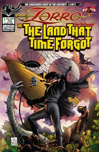 [Zorro: In Land That Time Forgot #1 (Cover A Martinez) (Product Image)]