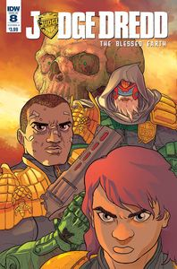 [Judge Dredd: Blessed Earth #8 (Cover A Farinas) (Product Image)]