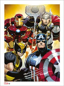 [Marvel: Giclee Print: Avengers 2 By John Romita Jr (Signed & Numbered) (Product Image)]