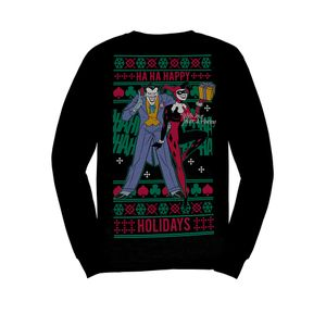[Batman: Christmas Jumper: Ha Ha Happy Holidays (Product Image)]