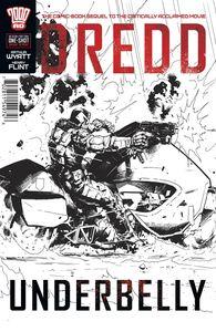 [Dredd: Underbelly: Movie Sequel (One Shot - Trevor Hairsine Variant) (Product Image)]