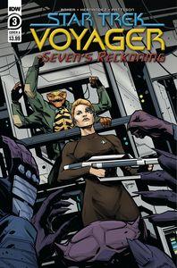 [Star Trek: Voyager: Sevens Reckoning #3 (Cover A Hernandez) (Product Image)]