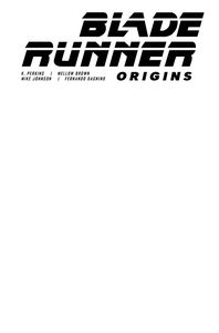 [Blade Runner: Origins #1 (Cover F Blank Sketch) (Product Image)]