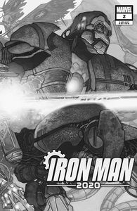 [Iron Man: 2020 #2 (Bianchi Connecting Variant) (Product Image)]