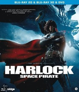 [Harlock Space Pirate 3D (Blu-Ray) (Product Image)]
