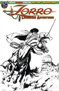 [Zorro: Legendary Adventures #1 (Blazing Blades Of Zorro Limited Edition) (Product Image)]