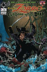[Zorro: Galleon Of The Dead #2 (Cover A Martinez) (Product Image)]