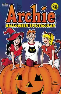 [The cover for Archies Halloween Spectacular #1]