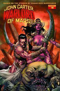 [John Carter: Warlord #14 (Cover A Casas) (Product Image)]