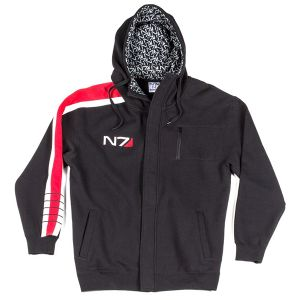 [Mass Effect: Hoodie: N7 Elite Armour Stripe (Product Image)]