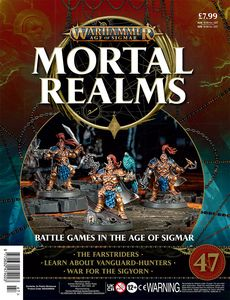 [Warhammer: Age Of Sigmar: Mortal Realms #47 (Product Image)]