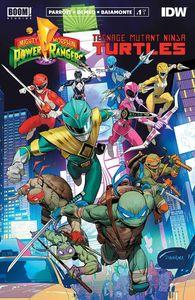 [Power Rangers/Teenage Mutant Ninja Turtles #1 (Main 2nd Printing) (Product Image)]