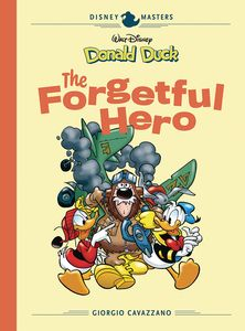 [Disney Masters: Volume 12: Donald Duck Forgetful Hero (Hardcover) (Product Image)]