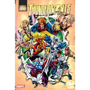 [Thunderbolts: Omnibus: Volume 1 (Bagley Annual DM Variant Hardcover) (Product Image)]