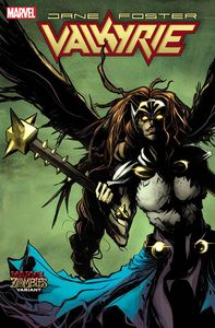 [Valkyrie: Jane Foster #10 (Rodriguez Marvel Zombies Variant) (Product Image)]