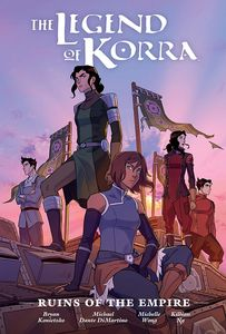 [The Legend Of Korra: Ruins Of The Empire (Library Edition Hardcover) (Product Image)]
