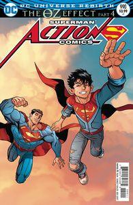 [Action Comics #990 (Lenticular Edition (Oz Effect)) (Product Image)]
