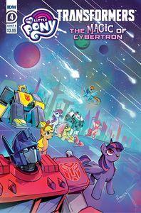 [My Little Pony/Transformers II #4 (Cover A Tony Fleecs) (Product Image)]