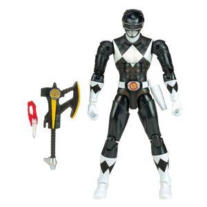 [Mighty Morphin Power Rangers: Legacy Action Figure: Black Ranger Metallic (Product Image)]