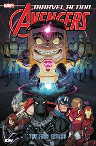 [Marvel Action: Avengers: Book 3: The Fear Eaters (Product Image)]