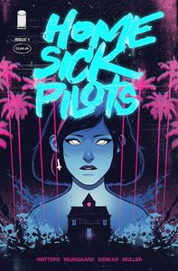 [Home Sick Pilots #1 (Cover E Turquoise Foil Variant) (Product Image)]