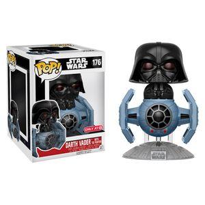 [Star Wars: Deluxe Pop! Vinyl Figure: Tie Fighter With Darth Vader (Product Image)]