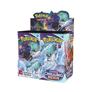 [Pokemon: Sword & Shield: 6 Chilling Reign: Booster Box Of 36 (Product Image)]