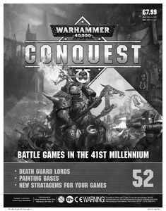 [Warhammer 40K: Conquest: Figurine Collection #52 (Product Image)]