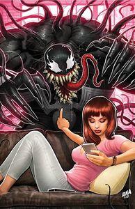 [Venom #1 (David Nakayama Virgin Convention Variant) (Product Image)]