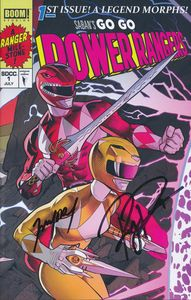 [Go Go Power Rangers #1 (Signed SDCC Exclusive B) (Product Image)]