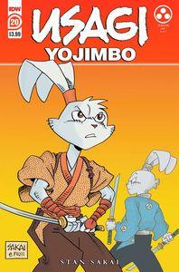[Usagi Yojimbo #20 (2nd Printing) (Product Image)]