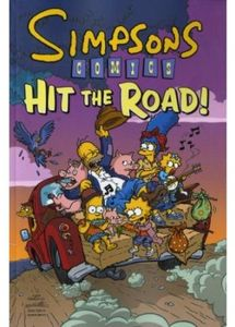 [The Simpsons: Simpsons Comics Hit The Road (Product Image)]