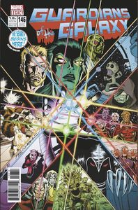 [Guardians Of The Galaxy #146 (2nd Printing - Lim Lenticular Homage Variant) (Legacy) (Product Image)]