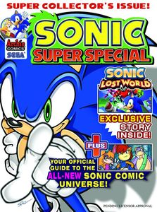 [Sonic Super Special Magazine #9 (Product Image)]