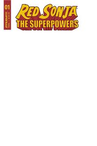 [Red Sonja: The Superpowers #1 (Blank Authentix Edition) (Product Image)]