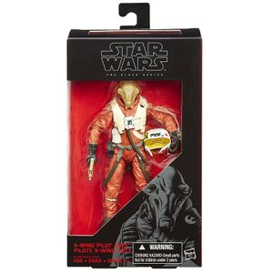 [Star Wars: The Force Awakens: Black Series: Wave 3 Action Figures: X-Wing Pilot Ello Asty (Product Image)]