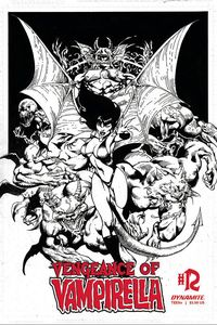 [Vengeance Of Vampirella #12 (Castro Black & White Variant) (Product Image)]