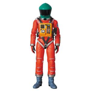 [2001: A Space Odyssey: MAF EX Action Figure: Space Suit Green Helmet Orange Suit (Product Image)]