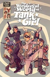 [Tank Girl: The Wonderful World Of Tank Girl (Hardcover) (Product Image)]