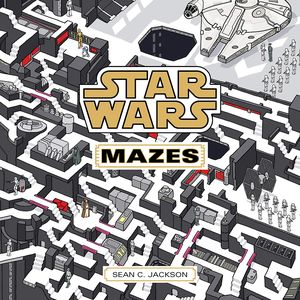 [Star Wars: Mazes From A Galaxy Far, Far Away (Product Image)]
