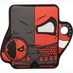 [DC: Foundmi Bluetooth Tracking Tag: Deathstroke (Product Image)]